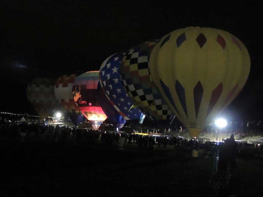 Melanie Sze, Balloon Festival AM Launching, Photography.