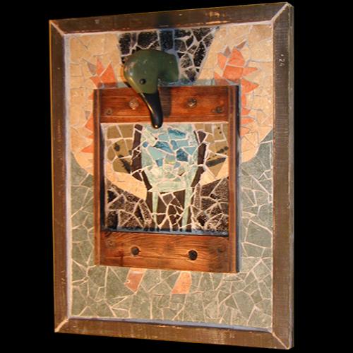 Frank McDonough, Stucky Ducky, Mosaic.