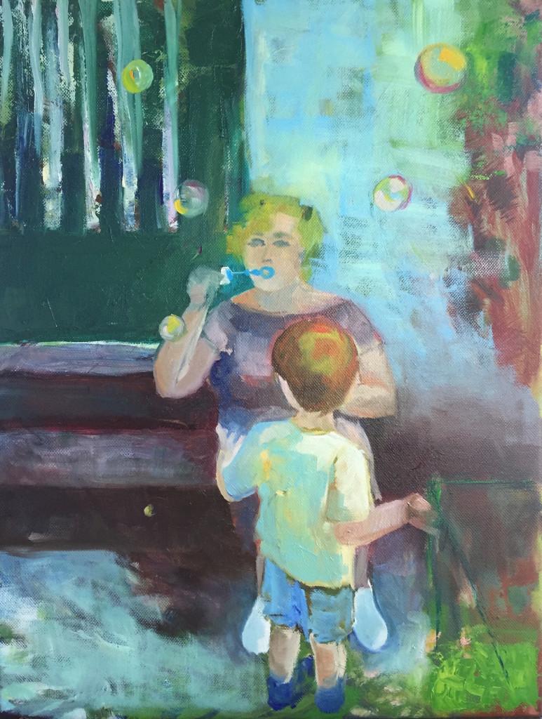 """Magdalena Urbankova, """"Summer Heatwave"""", oil, 14x18"""""""