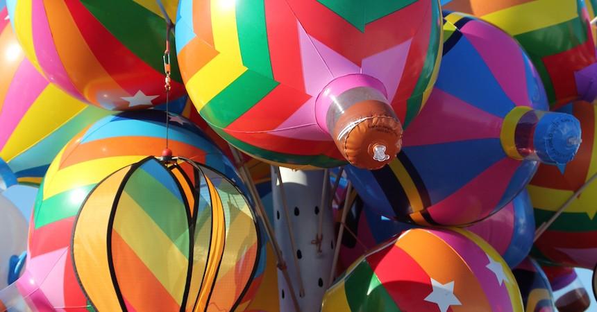 """Colleen Kirton, """"Balloon Kaleidoscope"""", Photography."""