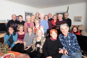 ALC holiday party, January