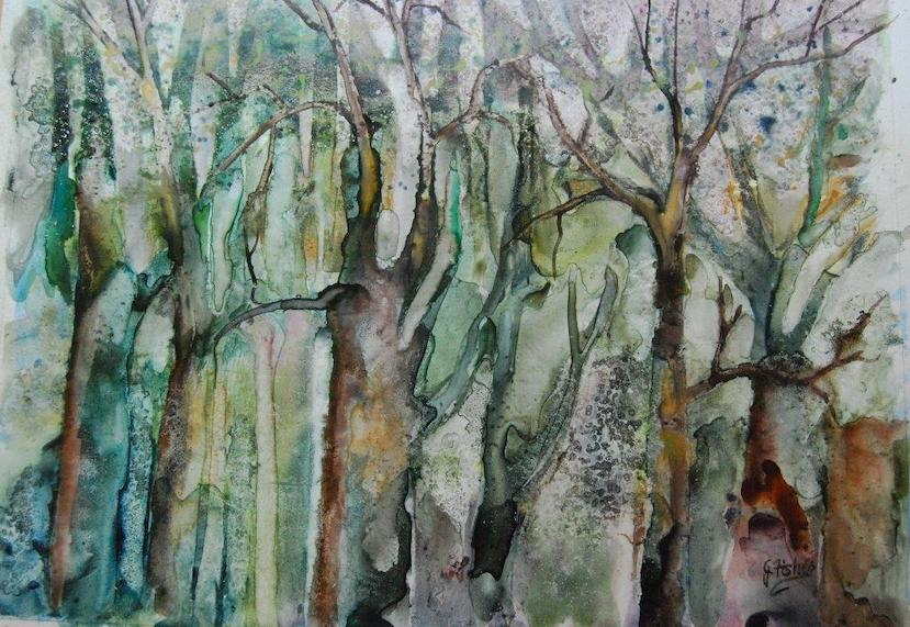 """""""Hidden"""" by June Fisher-Markowitz"""